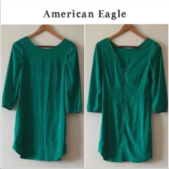 American Eagle Outfitters Dresses & Skirts - American Eagle green dress size 10